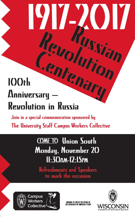 Russian Revolution Centenary poster