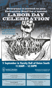 Labor Day Celebration poster