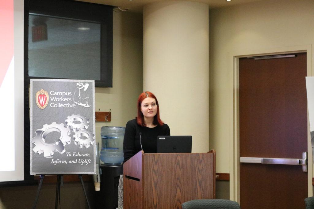 Ms. Iacobazzi presenting