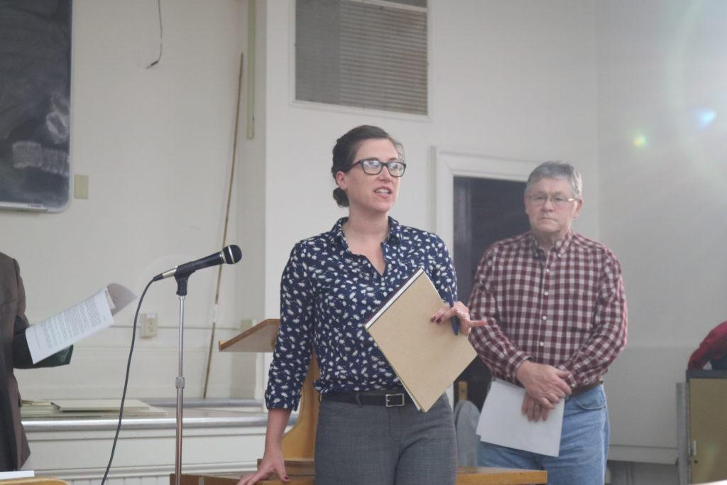Lauren Hasselbacher and Tom Handland