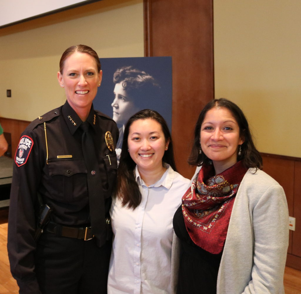 Chief Roman, Linda, Assistant Professor Pandey