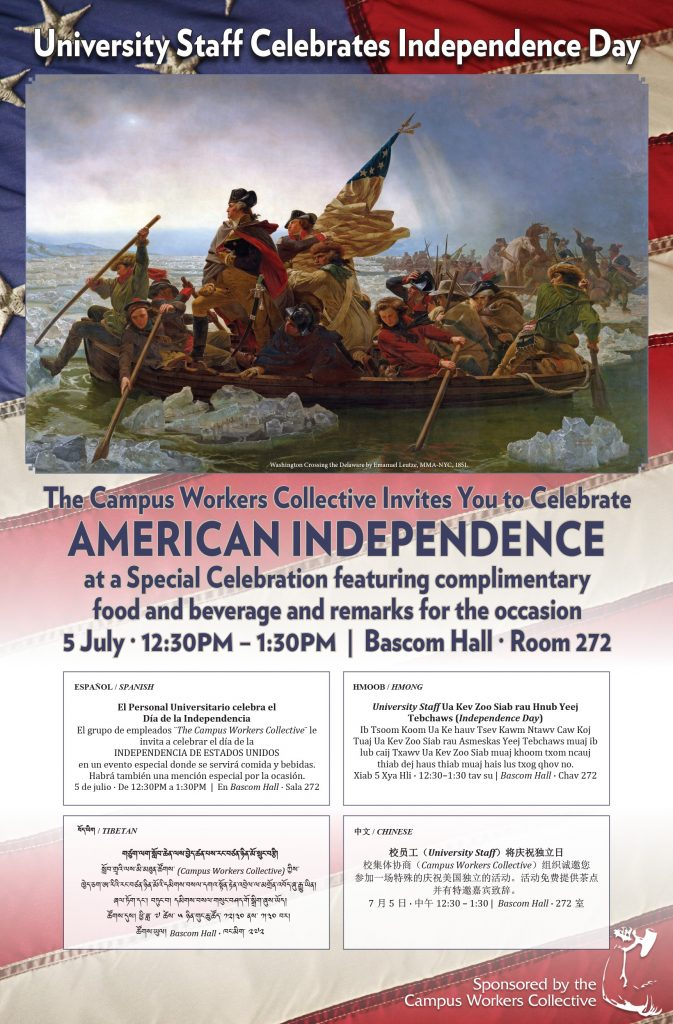 American Independence Day 2018 poster